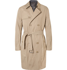 Michael Kors - Double-Breasted Twill Trench Coat