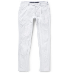 Michael Kors - Slim-Fit Pleated Cotton Trousers