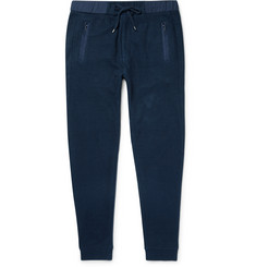 Michael Kors - Cotton and Linen-Blend Sweatpants