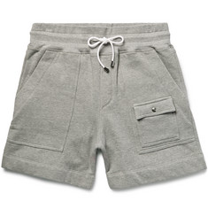 Michael Bastian Fleece-Back Cotton-Jersey Shorts