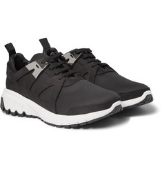 Neil Barrett Neoprene and Suede Sneakers