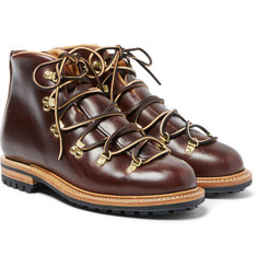 Viberg - Hiker Whole-Cut Leather Boots