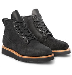 Viberg Scout Oiled Roughout-Leather Boots