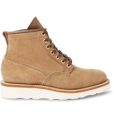 Viberg Scout Roughout-Leather Boots