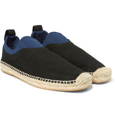 Maison Margiela - Canvas and Neoprene Espadrilles