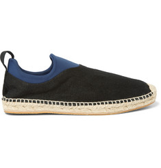 Maison Margiela Canvas and Neoprene Espadrilles