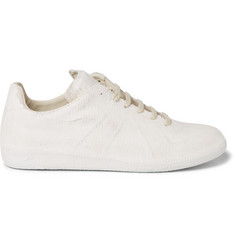 Maison Margiela Replica Coated-Suede Sneakers