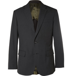Marvy Jamoke + Beams Black Slim-Fit Ripstop Blazer