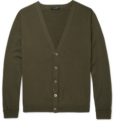 Marvy Jamoke - + Beams Slim-Fit Cotton Cardigan