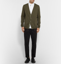 Marvy Jamoke + Beams Slim-Fit Cotton Cardigan