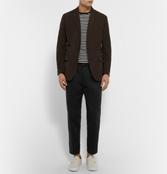 Marvy Jamoke + Beams Tapered Cotton-Twill Field Trousers