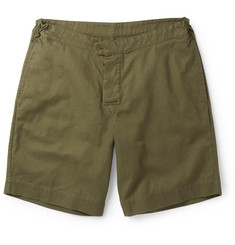 Margaret Howell - MHL Cotton and Linen-Blend Twill Shorts