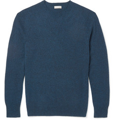 Margaret Howell - Mélange Cotton and Cashmere-Blend Sweater