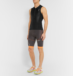 2XU Compression Tri Stretch-Jersey Triathlon Tank Top