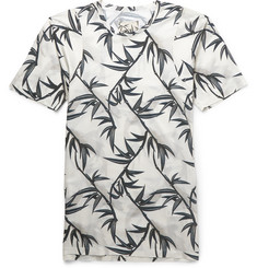 Marc Jacobs Slim-Fit Palm-Print Cotton T-Shirt