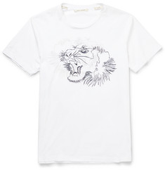 Marc Jacobs Slim-Fit Embroidered Cotton T-Shirt