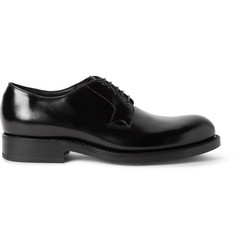 Raf Simons Polished-Leather Derby Shoes