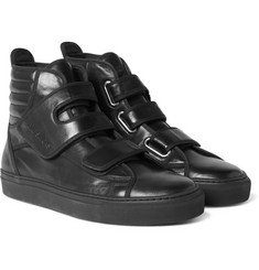 Raf Simons - Leather High-Top Sneakers