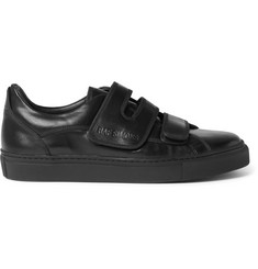 Raf Simons Polished-Leather Sneakers