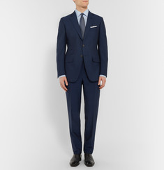 Tom Ford Blue Slim-Fit Mohair and Wool-Blend Suit Jacket