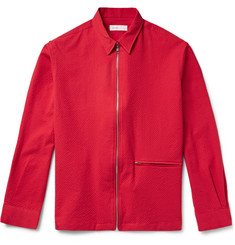 Several - Monza Textured Stretch-Cotton Jacket