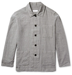 Several - Watkins Checked Wool and Linen-Blend Shirt Jacket