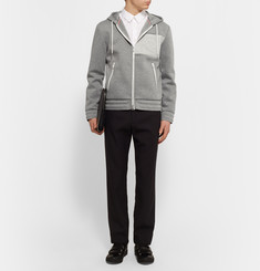 Moncler - Bonded Cotton-Jersey Hoodie
