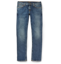 Nudie Jeans Tight Long John Skinny-Fit Organic Stretch-Denim Jeans