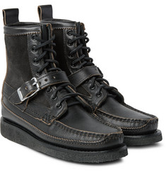 Yuketen - Maine Guide DB Suede-Panelled Leather Boots