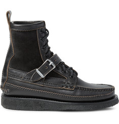 Yuketen Maine Guide DB Suede-Panelled Leather Boots