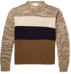 Marni - Colour-Block Cashmere Sweater
