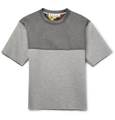 Marni Two-Tone Padded Jersey Sweatshirt