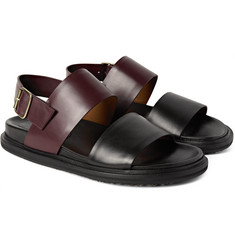 Marni - Two-Tone Leather Sandals