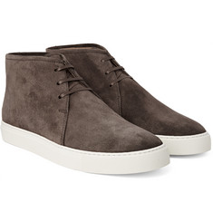 Harrys of London - Daniel Suede High-Top Sneakers
