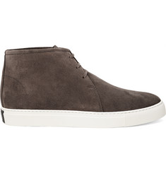 Harrys of London Daniel Suede High-Top Sneakers