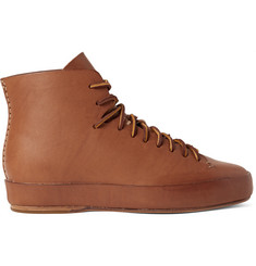 Feit Leather High-Top Sneakers