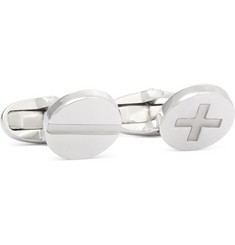 Paul Smith Shoes & Accessories Screw Silver-Tone Cufflinks