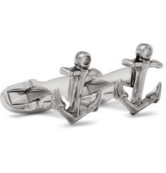 Paul Smith Shoes & Accessories Anchor Silver-Tone Cufflinks