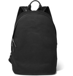 Paul Smith Leather-Trimmed Cotton-Canvas Backpack