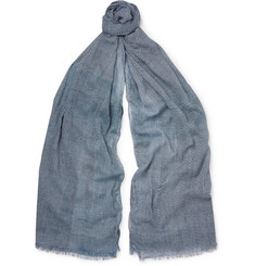 Paul Smith Shoes & Accessories Patterned Cotton Scarf