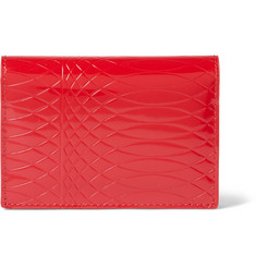 Paul Smith Shoes & Accessories No. 9 Embossed Patent-Leather Cardholder