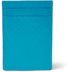 Paul Smith No. 9 Embossed Polished-Leather Cardholder