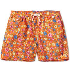 Polo Ralph Lauren - Traveler Printed Mid-Length Swim Shorts