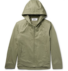 Chalayan - Hooded Cotton-Twill Jacket