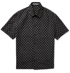 Chalayan - Slim-Fit Cotton-Blend Dobby Shirt