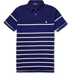 Polo Ralph Lauren - Striped Cotton-Piqué Polo Shirt