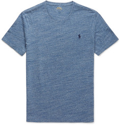 Polo Ralph Lauren Slim-Fit Marled Cotton-Jersey T-Shirt