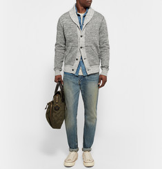 Polo Ralph Lauren - Shawl-Collar Mélange Cotton Cardigan