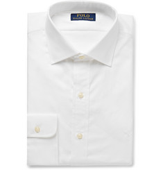 Polo Ralph Lauren - White Cotton-Poplin Shirt