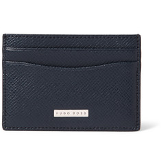 Hugo Boss Grained-Leather Cardholder